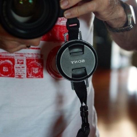 Download free 3D printer files Camera Lens Cap Holder - 72mm x 25mm, TeamTeamUSA