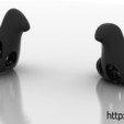 Download free 3D printing templates Summer duck, Holyjenkins68890