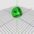 Free 3D model Supportless Hollow Cube Test, LenaNovelty