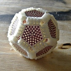Free 3D printer files Dodecahedral Protoboard, LenaNovelty