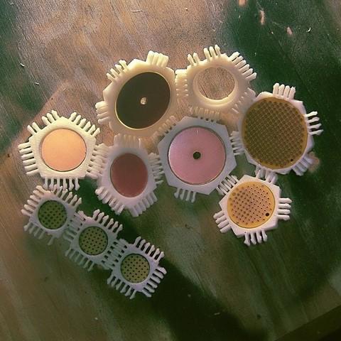 Diseños 3D gratis Elementos circulares, LenaNovelty
