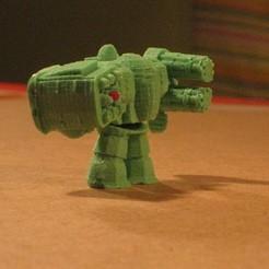 Free 3D printer model modular parametric robot, Estebandelgado45