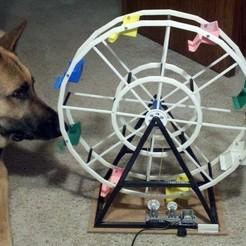 Modelos 3D gratis 50cm de alto Ferrris Wheel, Estebandelgado45