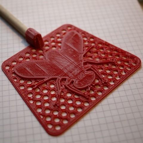 Diseños 3D gratis Matamoscas, Estebandelgado45