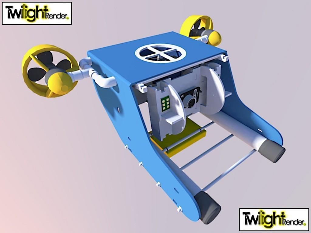 7750844438_b1831cd414_k_display_large.jpg Download free STL file OpenROV Underwater Robot • 3D printable design, PortoCruz675