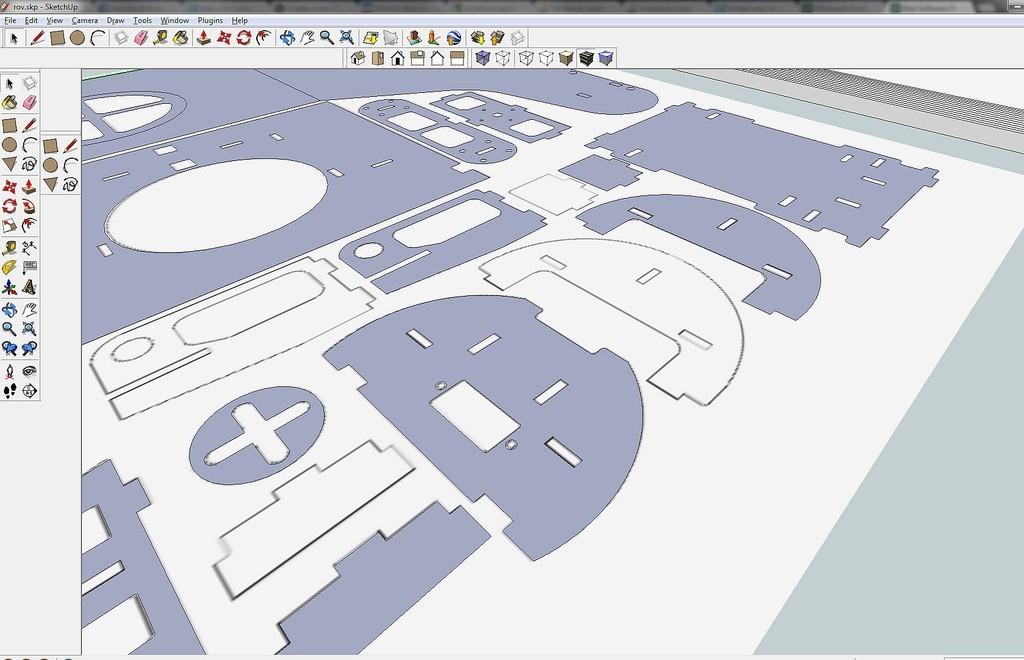 7750840434_ba556bd6eb_b_display_large.jpg Download free STL file OpenROV Underwater Robot • 3D printable design, PortoCruz675