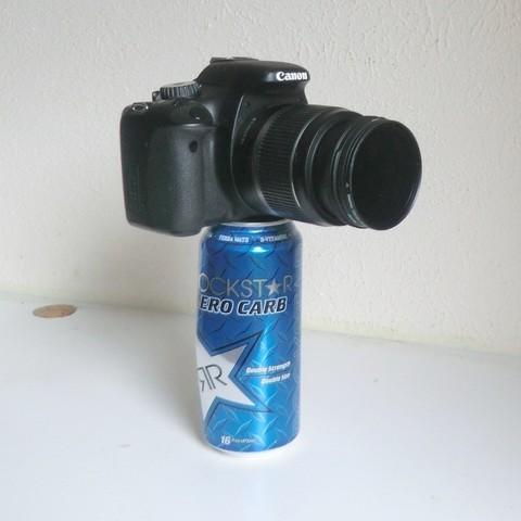 Free 3D print files Can Camera Mount, PortoCruz675