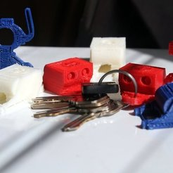 Download free STL file OpenROV keychain trinkets • 3D printer model, PortoCruz675
