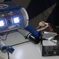 Download free 3D printer files External Power Supply Adapter for OpenROV, PortoCruz675