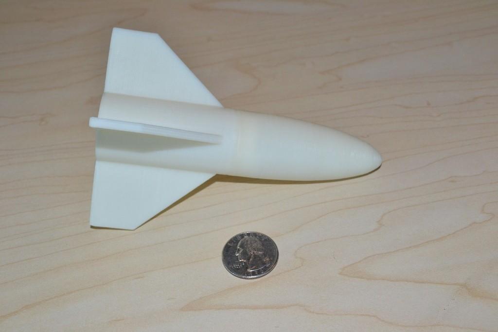 DSC_0455_display_large_display_large.jpg Download free STL file Model Rocket Toy • 3D printable template, PortoCruz675