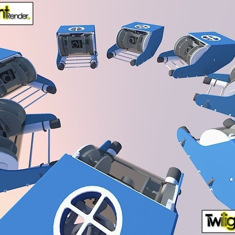 7750845736_9be90f605a_c_display_large.jpg Download free STL file OpenROV Underwater Robot • 3D printable design, PortoCruz675