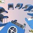 Télécharger objet 3D gratuit Robot sous-marin OpenROV, PortoCruz675