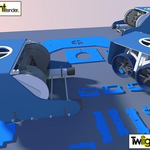 7750849262_151ee7e27f_c_display_large.jpg Download free STL file OpenROV Underwater Robot • 3D printable design, PortoCruz675
