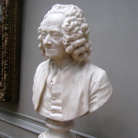 Download free 3D printer designs Voltaire, by Jean-Antoine Houdon, PortoCruz675