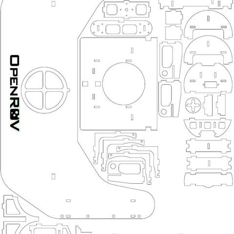 7750838804_cbf25727f6_k_display_large.jpg Download free STL file OpenROV Underwater Robot • 3D printable design, PortoCruz675