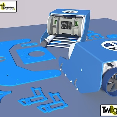 7750847090_7b18493e4b_c_display_large.jpg Download free STL file OpenROV Underwater Robot • 3D printable design, PortoCruz675