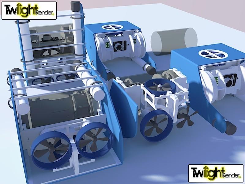 7750842292_2397019194_c_display_large.jpg Download free STL file OpenROV Underwater Robot • 3D printable design, PortoCruz675