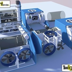 Download free 3D print files OpenROV Underwater Robot, PortoCruz675