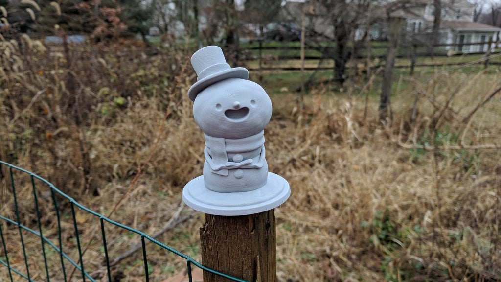 e9f109ea529a9958468039f627478f6a_display_large.jpg Download free STL file Snowman Decoration and Ornament • 3D print template, uppalong