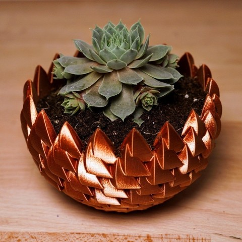 Télécharger fichier 3D Dragon Egg Succulent Planter, julcoh