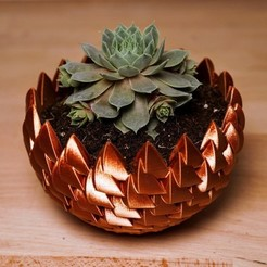 Download 3D printer files Dragon Egg Succulent Planter, julcoh