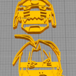 Download free 3D printing designs Edward and Alphonse Cookie Cutter, NelsonRB