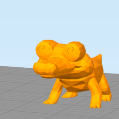 cr.png Download free STL file Little Crocodile ( Not Sandile ) • 3D printable design, NelsonRB