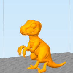 Free 3D printer model Velociraptor, NelsonRB