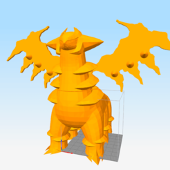 Download free 3D model Demon Dragon (Not Altered Giratina), NelsonRB