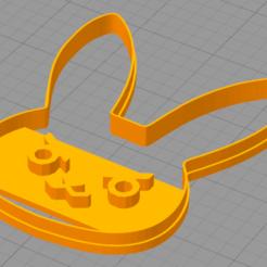 Download free 3D printer templates D.Va Logo Cookie Cutter, NelsonRB