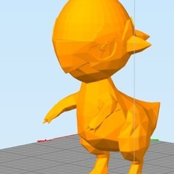 dino.jpg Download free STL file Rock Dino (Not Cranidos) • Template to 3D print, NelsonRB