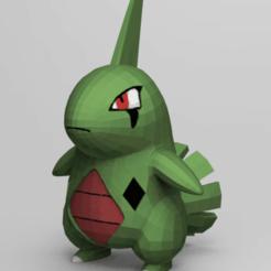 Download free 3D printer files Little Dino Monster (Not Larva), NelsonRB