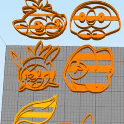 Télécharger fichier impression 3D Tous les biscuits d'entrée de gamme + 7 monstres de poche supplémentaires, NelsonRB