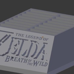 Download STL file BOTW Switch cartridge holder • 3D print design, NelsonRB