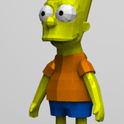 Download STL file Bart. S • Template to 3D print, NelsonRB