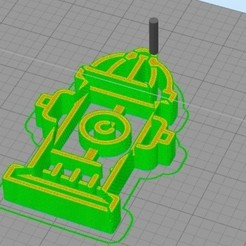 Download free 3D printer templates Cookie Cutter Hydrant, NelsonRB
