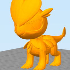 Download STL file Little Dragon ( Not Jangmo-o ) • 3D printer template, NelsonRB