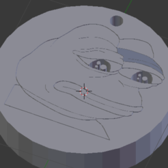 Download free 3D printing files Pepe FeelsBad Keychain, NelsonRB