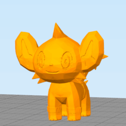 7174.png Download STL file Little Lion (Not Shinx) • 3D printable design, NelsonRB
