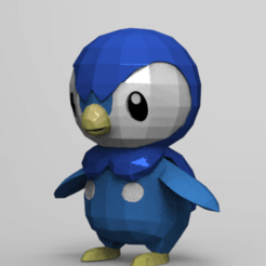 Download free 3D printer files Penguin (Not Piplup), NelsonRB