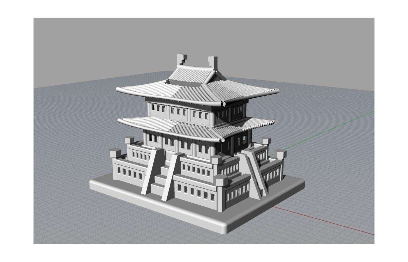 Korean Traditional Architecture Coin Bank jpg3.jpg Télécharger fichier STL gratuit Banque Coréenne d'Architecture Traditionnelle de Pièces de monnaie • Design imprimable en 3D, hyojung0320