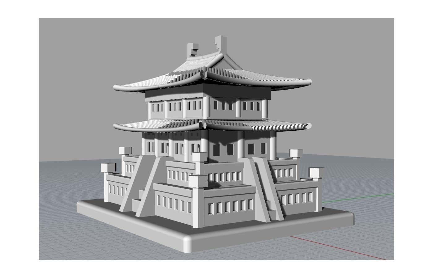Korean Traditional Architecture Coin Bank jpg2.jpg Télécharger fichier STL gratuit Banque Coréenne d'Architecture Traditionnelle de Pièces de monnaie • Design imprimable en 3D, hyojung0320
