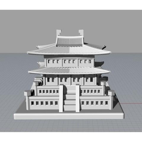 Korean Traditional Architecture Coin Bank jpg4.jpg Télécharger fichier STL gratuit Banque Coréenne d'Architecture Traditionnelle de Pièces de monnaie • Design imprimable en 3D, hyojung0320