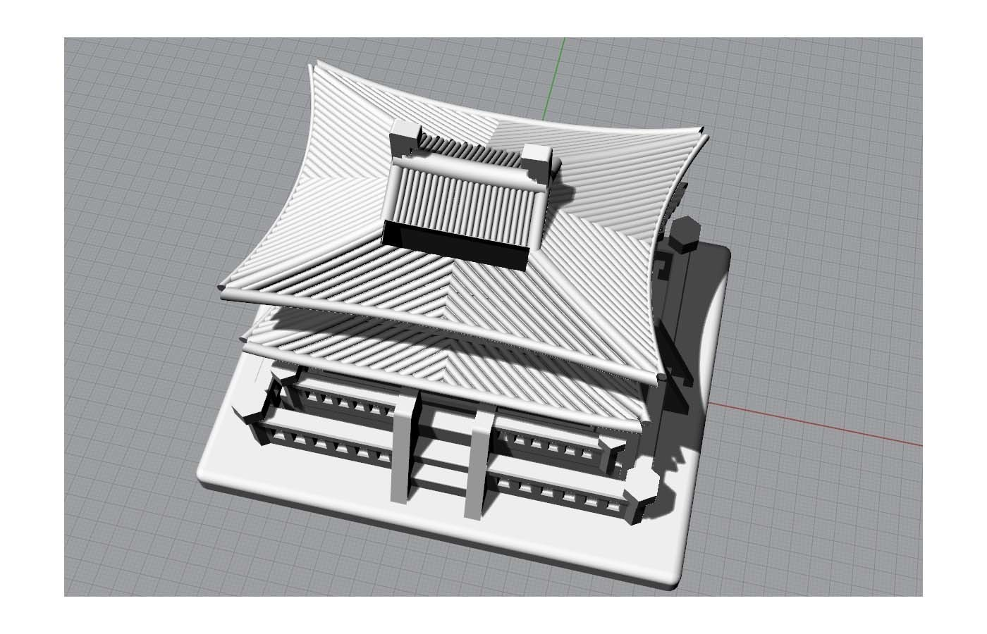 Korean Traditional Architecture Coin Bank jpg1.jpg Télécharger fichier STL gratuit Banque Coréenne d'Architecture Traditionnelle de Pièces de monnaie • Design imprimable en 3D, hyojung0320