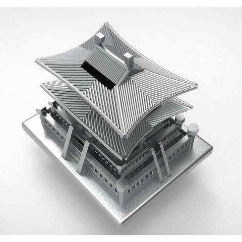 Korean Traditional Architecture Coin Bank ran5.jpg Télécharger fichier STL gratuit Banque Coréenne d'Architecture Traditionnelle de Pièces de monnaie • Design imprimable en 3D, hyojung0320