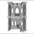 CStairs2Assembled_display_large_display_large.jpg Télécharger fichier STL gratuit Escalier du château Deux • Design imprimable en 3D, gabutoillegna56