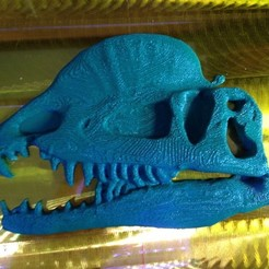 Free 3D printer model Dilophosaurus Plaque, gabutoillegna56
