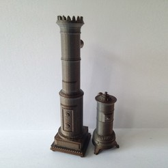 Free STL files 1:24 Antique Scandinavian Stoves, gabutoillegna56
