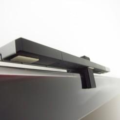 Impresiones 3D gratis TV Top Porta Sensores Wii Bar Holder, gabutoillegna56