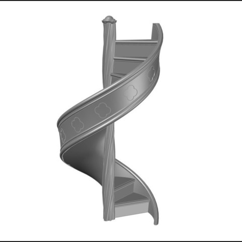 Download free 3D printer model Castle Stairs Two, gabutoillegna56
